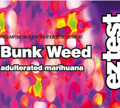 EZ Test Bunk Weed